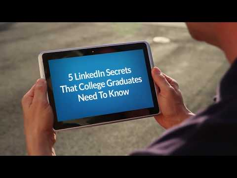 5 LinkedIn Secrets That College Graduates Need To Know: Endorsements + Recommendations