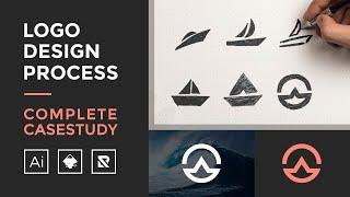 Logo Design Process - Complete Case Study