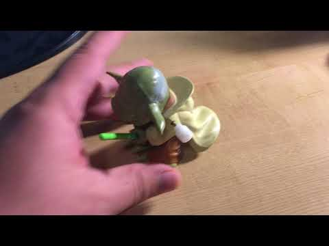 My Flipping Yoda toy I bought from Disney France (originally Hong Kong Disney)