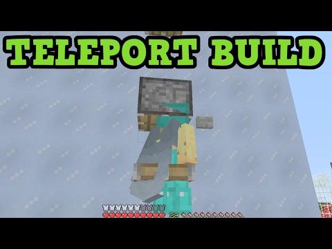 Minecraft Xbox One / PS4 - Redstone Transporter - TELEPORT
