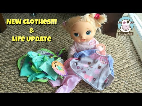 Baby Alive New Outfit for Juliet and life update