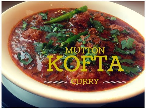 Mutton Kofta Curry/Kofta Curry/Kofta Salun/Kofta handi/Meatball Curry