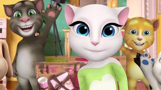Talking Angela - My Party Video Compilation