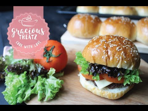 Hamburger Buns | How to Make Homemade Burger Buns