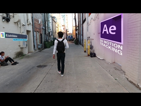 How to Attach Objects to Walls & Ground in Adobe After Effects CC! (3d Motion Track Videos Tutorial)