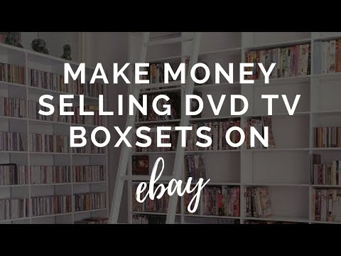 Selling TV Boxsets on eBay - Make Money Selling DVD Boxsets