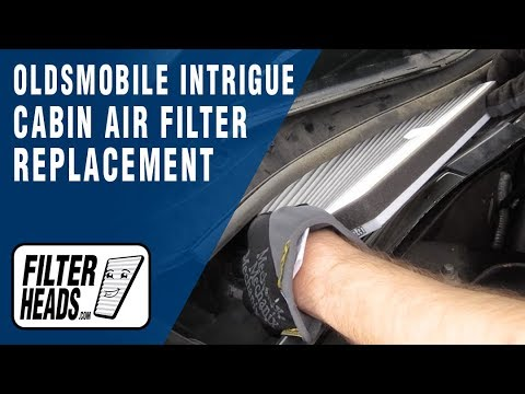 How to Replace Cabin Air Filter Oldsmobile Intrigue