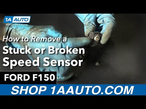 How to Remove a Stuck or Broken Speed Sensor