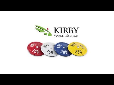 Kriby Markers - Golf Course Yardage Marker Installation