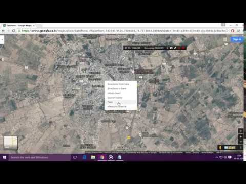 How to Save Google Maps to pdf using PC | Easily | With Using Google Chrome