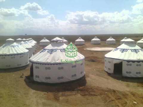 Steel frame mongolian yurt (ger)