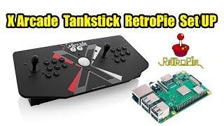 X-arcade Tankstick RetroPie Setup And Configuration Arcade Stick