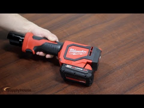 How To Make a Pex Press Connection w/ the Milwaukee M18 Short Throw Press Tool.
