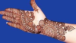 Beautiful Mehndi Designs For Hands | Simple Arabic Mehndi Design For Hands #88 @ jaipurthepinkcity