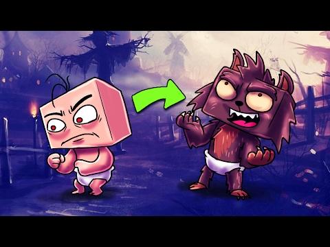Minecraft | Who's Your Daddy? Baby + Werewolf = RUN! (Baby vs Werewolf)
