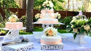 Как Сделать Свадебный Торт на 50 Человек Самому и Даже Сэкономить  How To Make A Wedding Cake