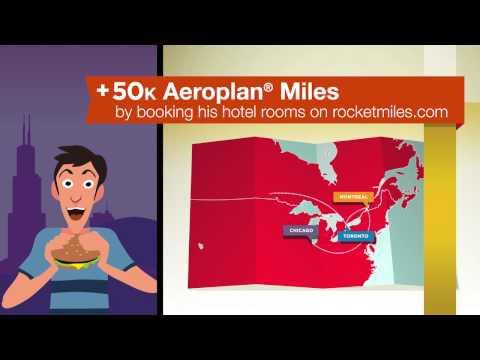 Rocketmiles + Aeroplan®