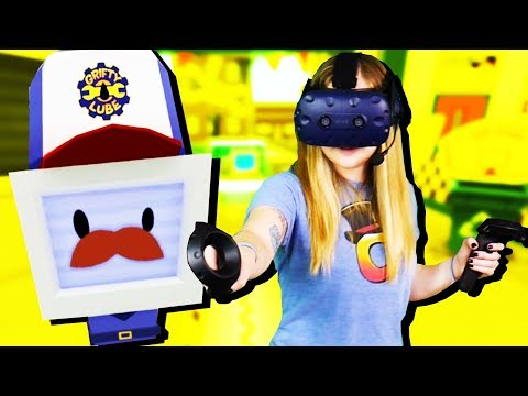 LADY CTOP the MECHANIC! - Job Simulator Gameplay - VR HTC Vive Pro
