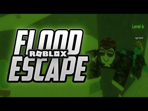 Twin Toys Plays Roblox:  Flood Escape 2