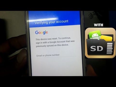 How To Bypass Google Account Samsung mobiles With SD Card  - it's NEW WAY