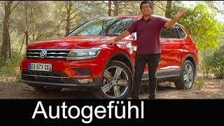 Volkswagen Tiguan Allspace (VW Tiguan LWB for USA) FULL REVIEW 7-Seater 7-Sitzer - Autogefühl