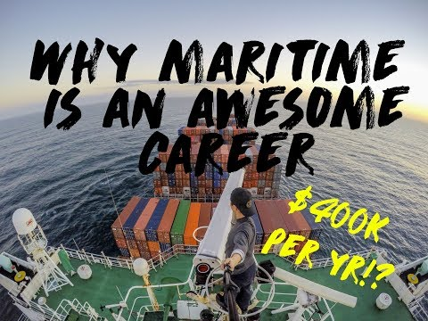 10 Reason why Maritime is AWESOME ( And such a great career! earn 400k USD per year!? )