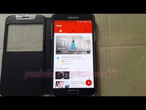 Android Phone : How to Check Youtube Mobile Offline Storage in Samsung Galaxy S5