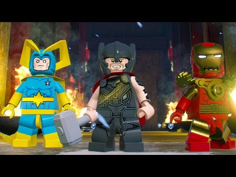 LEGO Marvel Super Heroes 2 How to Get More Than 2 Characters On Screen