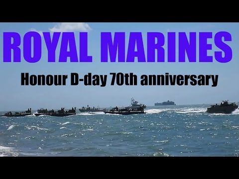 CRHnews - 70th D-Day anniversary honoured by amphibious assault