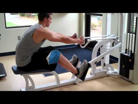 Nautilus Seated Row Machine