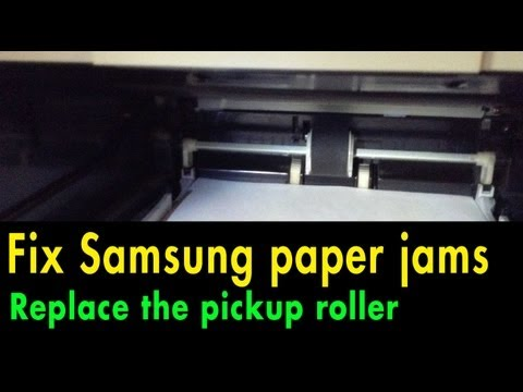 Replace a Printer Pickup Roller (Samsung ML2010, SCX4521, SFX4725 and others)