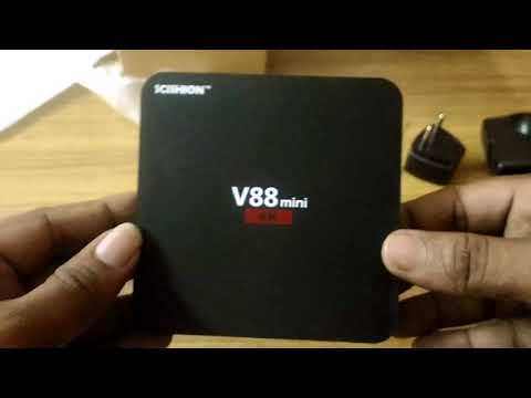 V88 TV Box unboxing and review
