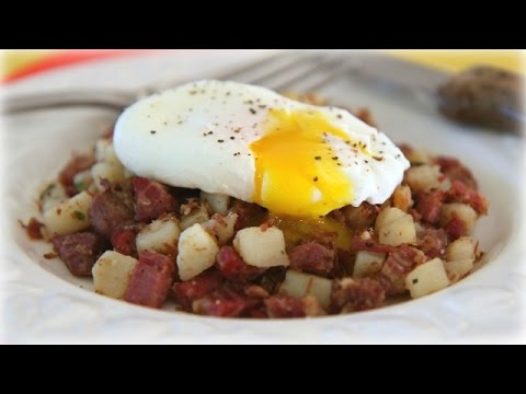 Corned Beef Hash Recipe f/ Famous Idaho Potatoes