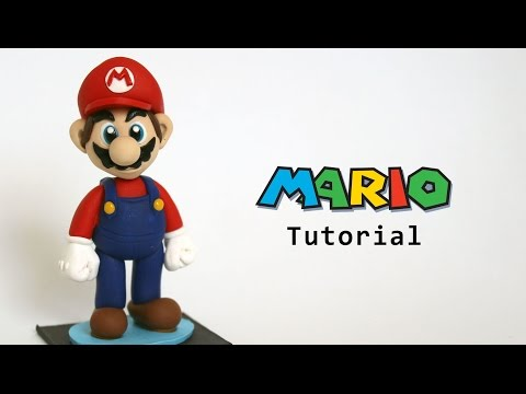 Mario Figurine Polymer Clay Tutorial