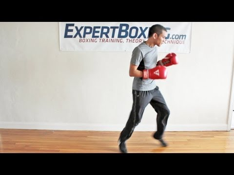 Boxing Bounce Footwork - the