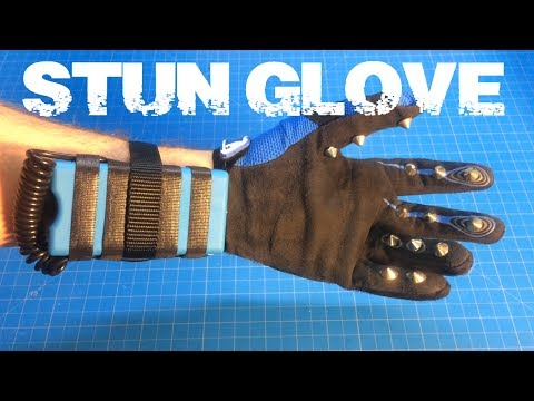 Homemade T.A.S.E.R. STUN Glove 1.0 Iron-Man Mechanic Inspired