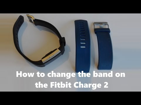 How to change the band on the Fitbit Charge 2
