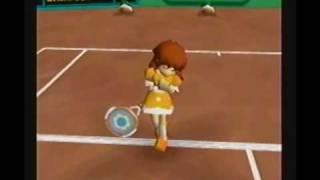 Mario Tennis(N64):Flower Cup(Daisy)