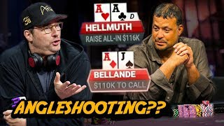 Is This Angleshooting Or Good Speech Play??   Timmy Poker Hands