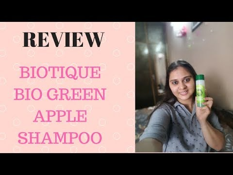 Biotique bio green apple shampoo for Dry hair REVIEW | Hindi | Vimpilicious beauty