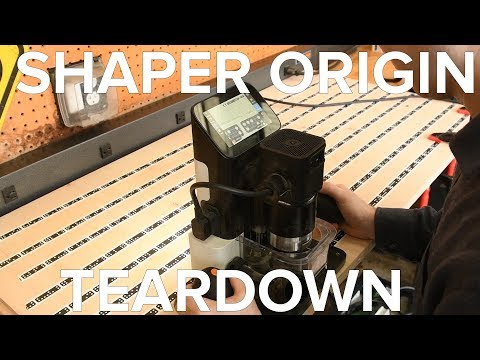 Shaper Origin Teardown: The World's FIRST Handheld CNC Machine