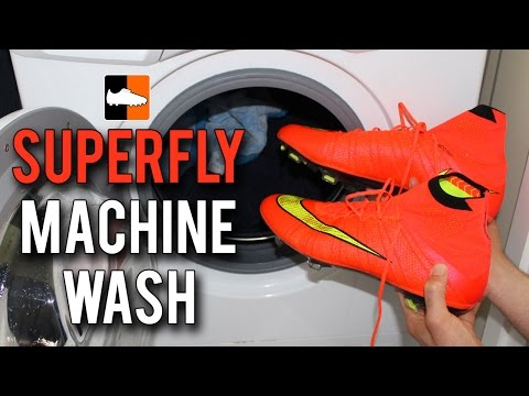 What happens when you put the Superfly boots in the Washing Machine?