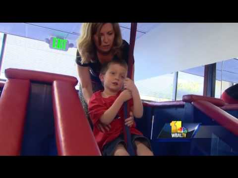 Cool gym caters to children on autism spectrum
