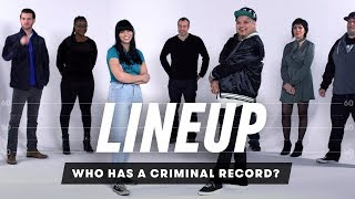 Guess Who Has a Criminal Record | Lineup