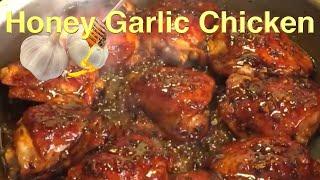 Honey Garlic Glazed Chicken Thigh
