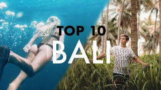 TOP 10 BALI (TRAVELLERS PARADISE)