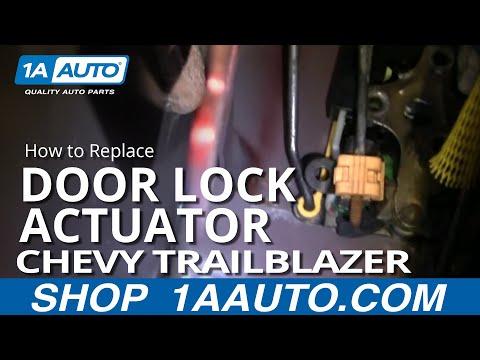 How To Install Replace Broken Power Door Lock Front Chevy Trailblazer GMC Envoy 02-06 1AAuto.com