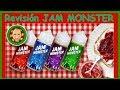 Gama de e-liquids de Jam Monster