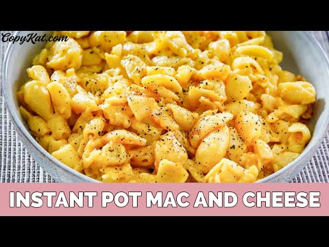 How to Make Macaroni and Cheese in an Instant Pot