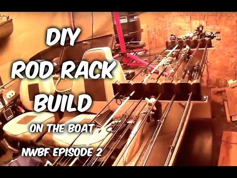 DIY Rod Racks for the new boat